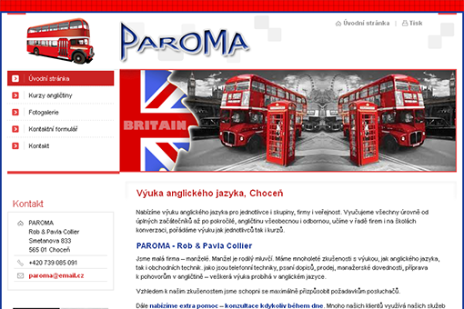 paroma-english.cz